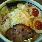 みそや林檎堂 - 味噌らーめん(地鶏の味玉付き)850円