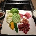 焼肉アリラン - アリランランチ ¥1600円