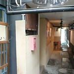 cafe RIN - 入り口から外