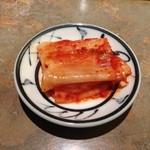 焼肉アリラン - ランチに付いてくるキムチ