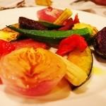 ノート - 旬の焼き野菜