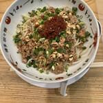 博多担々麺 とり田 - 汁なし坦々麺980円!