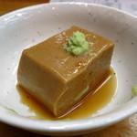 金田 - 料理写真:胡麻ドーフ