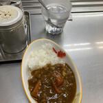 西新井ラーメン - 料理写真:ミニカレー