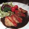 味工房 いわさ - 料理写真:牛タンカツレツ 900円