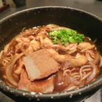 小豆島 大儀 - 阿波踊りの味噌煮込み 素麺