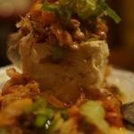 メガ盛り屋 - 豆腐タワー