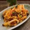 旅人シェフのタイ食堂 KHAO - 料理写真:スキーヘン(950円) 海鮮と春雨のタイスキソース炒め