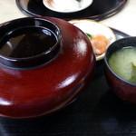 かつ梅 - カツ丼(税込:600円)