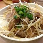 葵亭 - ぶた丼(セット+250円)