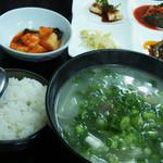 16059592 - テールスープ定食