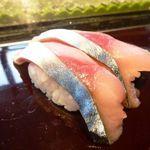 寿司割烹 「ともづな」 - 鯖・・残念な品だったそうな。