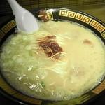 一蘭 - 味は基本にして大蒜は無し!辛さは2倍