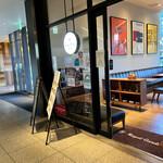 ロイヤルガーデンカフェ - 外観:入口