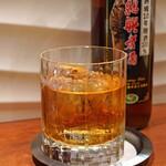 對馬 - 紹興酒 甕熟成10年 原酒100%