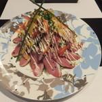 多酒多菜家 はしがき - 合鴨のスカイツリーサラダ