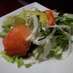 きら・柊 - 定食のサラダ