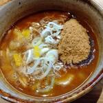 自家製麺 つきよみ - つけスープ (σ´∀`)σ