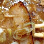 自家製麺 つきよみ - chashu2種類 (*´-`)b イイ