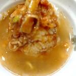 自家製麺 つきよみ - 〆 (σ´∀`)σ