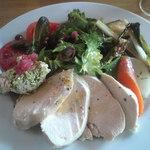 16062551 - 蒸し鶏のサラダランチ