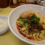 麺や 双六 - 汁なし坦々麺 & ライス