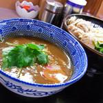 らー麺土俵 鶴嶺峰 - つけ麺750円