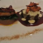レストラン 間 - 国産牛フィレ肉とフォアグラのマリアージュ