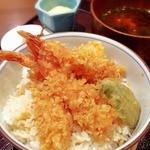 志ん橋 ひでや - 「天丼定食」750円