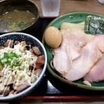 160656499 - 特製極濃煮干しつけ麺