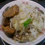麺屋 婆娑羅 - ラーメン(ミニ)¥640