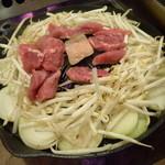 まるごと北海道 - ジンギスカン食べ放題(3,129円) ※焼き状態