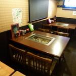 まるごと北海道 - 1Fテーブル席