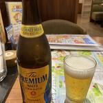 デニーズ - まずはビール。