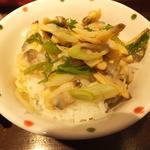 らーめん 鶏喰 - あさりご飯¥250