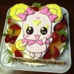 ユーちゃんちのママ - プリキュアケーキ