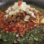 白胡麻屋 - 四川辣醤麺アップ