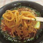 白胡麻屋 - 麺アップ