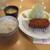 ポンチ軒 - その他写真:上ロースカツ定食1500円。