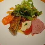フェルマータ - 本日の前菜盛り合わせ