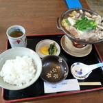 季禅房 - 再訪:かも鍋とライス
