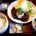 しすい亭 - 和風焼定食!