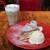 GRANNY SMITH APPLE PIE & COFFEE - その他写真:モンブランアップルパイ&メープルナッツ ラテマキアート