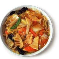 中国料理 五十番 - うどラーメン 800円