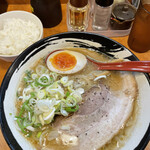 SAPPORO NOODLE 零 - 「味噌」850円(小ライスサービス)
