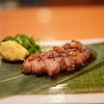 日本料理 たかむら - 北海道女満別18ヶ月サフォーク種ホゲットのロース