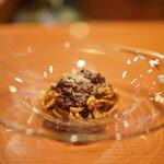 日本料理 たかむら - TACUBO取り寄せのソースで作ったボロネーゼ