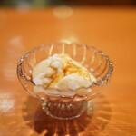 日本料理 たかむら - メレンゲアイス