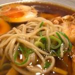 生粉蕎麦 玄 - スープが激ウマの絶品です。