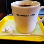 フレッシュネスバーガー - たっぷりの珈琲